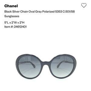 CHANNEL sun glasses